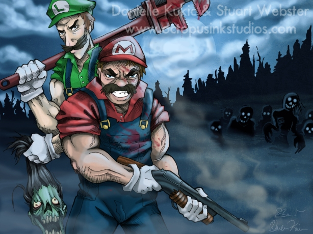 Mario Brothers: Zombie Hunters