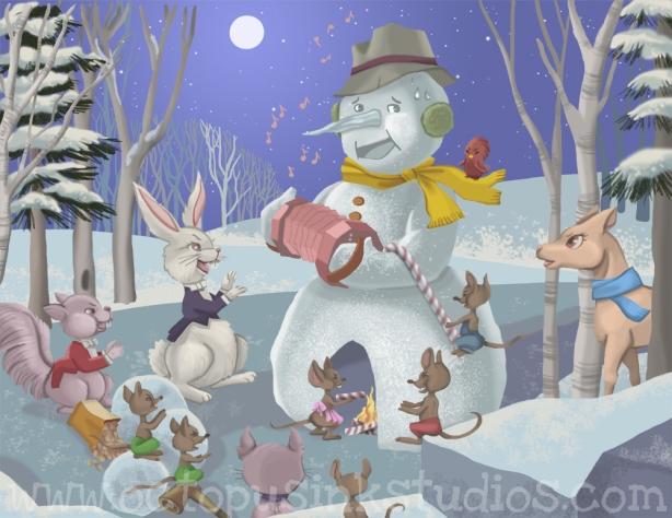 Snowman commish