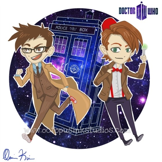 Chibi Doctor Who